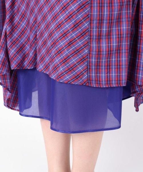 Khaju(カージュ)/Khaju:チェックボリュームロングスカート/323220078_img12