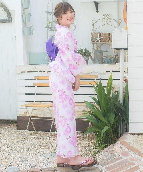 Dita(ディータ)/Dita【ディータ】1人で簡単に着られる作り帯の可愛い女性浴衣 4点フルセット(ゆかた・作り帯・下駄・着付けカタログ)/dl-2013yukata_img02