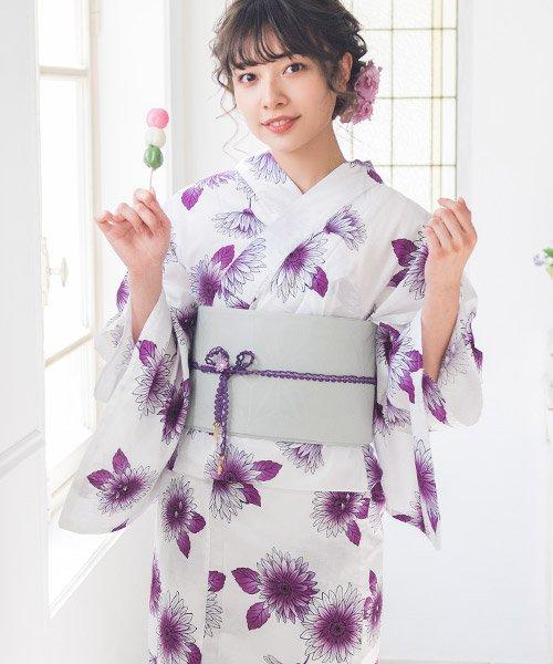 Dita(ディータ)/Dita【ディータ】1人で簡単に着られる作り帯の可愛い女性浴衣 4点フルセット(ゆかた・作り帯・下駄・着付けカタログ)/dl-2013yukata_img09