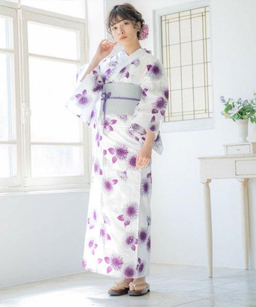 Dita(ディータ)/Dita【ディータ】1人で簡単に着られる作り帯の可愛い女性浴衣 4点フルセット(ゆかた・作り帯・下駄・着付けカタログ)/dl-2013yukata_img10