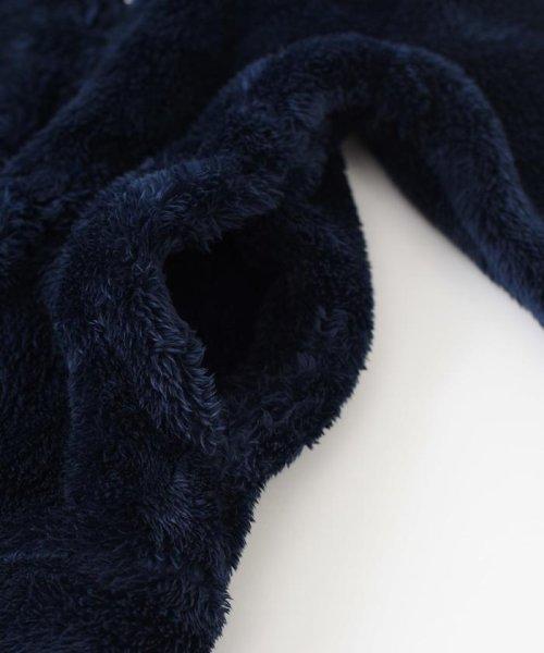 SHIPS JET BLUE(シップス ジェットブルー)/Champion×SHIPS JET BLUE: 別注 シェルパフリース ダブルジップパーカー/122980005_img15