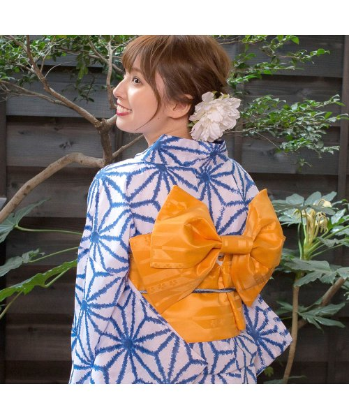 Dita(ディータ)/Dita【ディータ】1人で簡単に着られる作り帯の可愛い女性浴衣 4点フルセット(ゆかた・作り帯・下駄・着付けカタログ)/dl-2018kimuky1_img02
