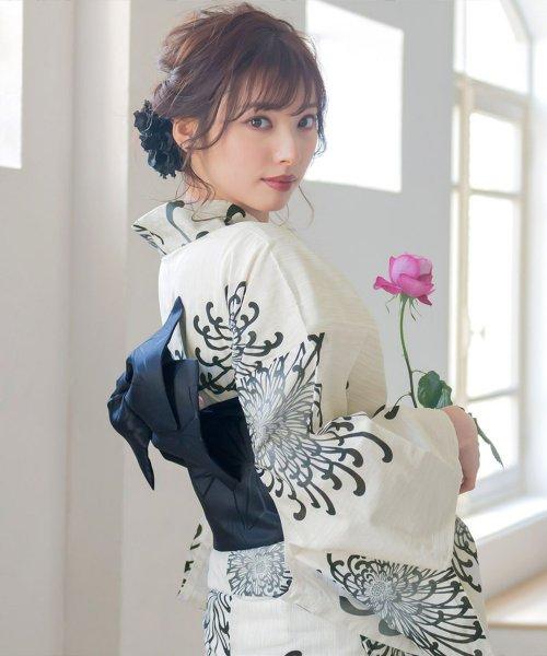 Dita(ディータ)/Dita【ディータ】1人で簡単に着られる作り帯の可愛い女性浴衣 4点フルセット(ゆかた・作り帯・下駄・着付けカタログ)/dl-2018kimuky1_img05
