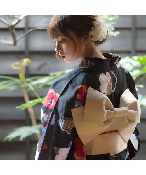 Dita(ディータ)/Dita【ディータ】1人で簡単に着られる作り帯の可愛い女性浴衣 4点フルセット(ゆかた・作り帯・下駄・着付けカタログ)/dl-2018kimuky1_img11