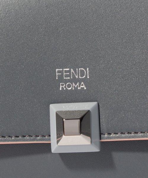 FENDI(フェンディ)/【FENDI】フラップ長財布 / RAINBOW CONTINENTAL 【ASPHALT/BLACK CHERRY】/8M0251SWDF11RH_img04