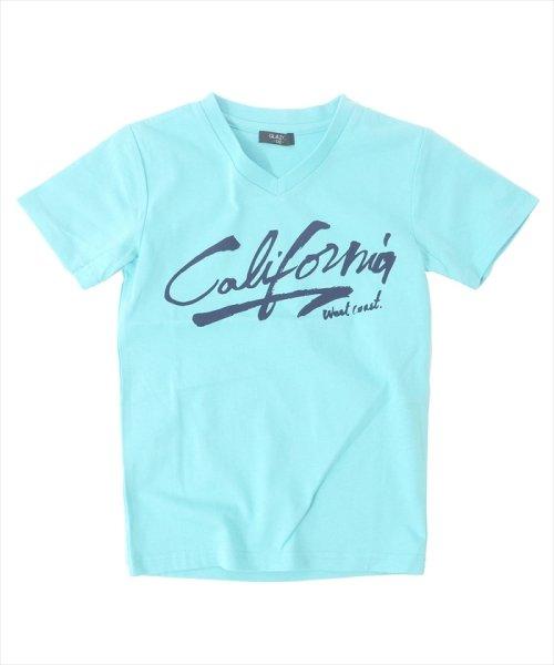 GLAZOS(グラソス)/接触冷感Californiaプリント半袖Tシャツ/g8208201_img10