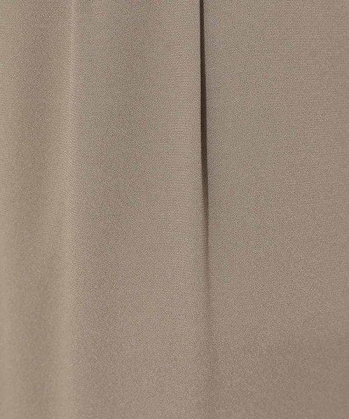 MICHEL KLEIN(ミッシェル・クラン)/【洗える】バックサテンデザインパンツ/FMLGD30190_img06