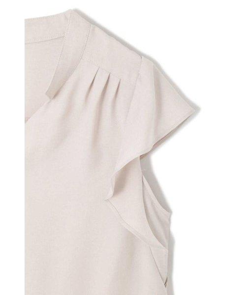 PROPORTION BODY DRESSING(プロポーション ボディドレッシング)/ラッフルシャンブレーマオカラーブラウス/1218210605_img10