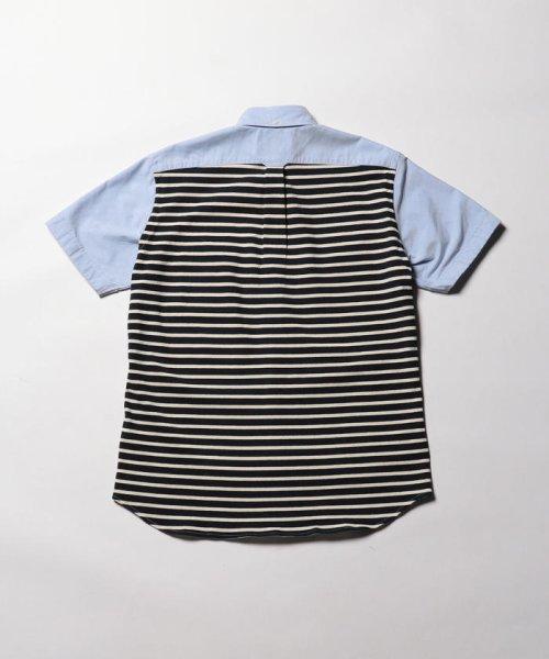 NOLLEY'S goodman(ノーリーズグッドマン)/カットソーコンビボタンダウンシャツ/8-0086-2-51-012_img02