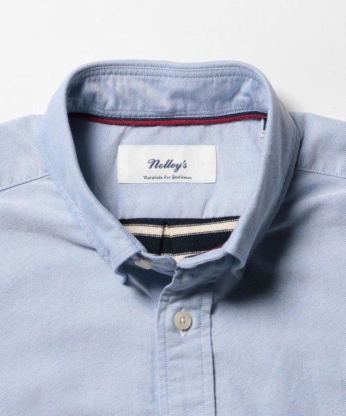NOLLEY'S goodman(ノーリーズグッドマン)/カットソーコンビボタンダウンシャツ/8-0086-2-51-012_img03