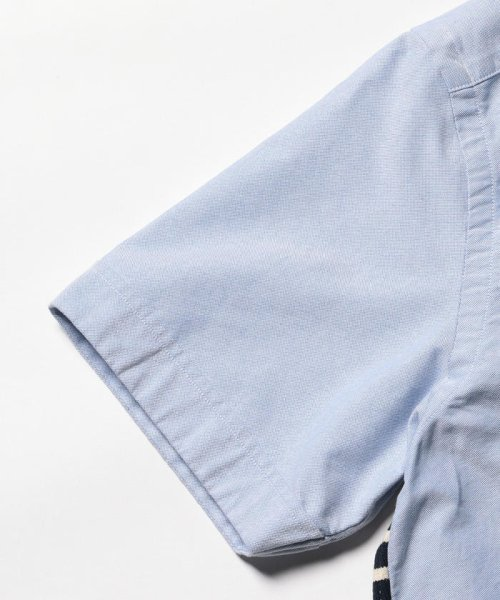 NOLLEY'S goodman(ノーリーズグッドマン)/カットソーコンビボタンダウンシャツ/8-0086-2-51-012_img04