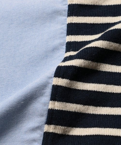 NOLLEY'S goodman(ノーリーズグッドマン)/カットソーコンビボタンダウンシャツ/8-0086-2-51-012_img08