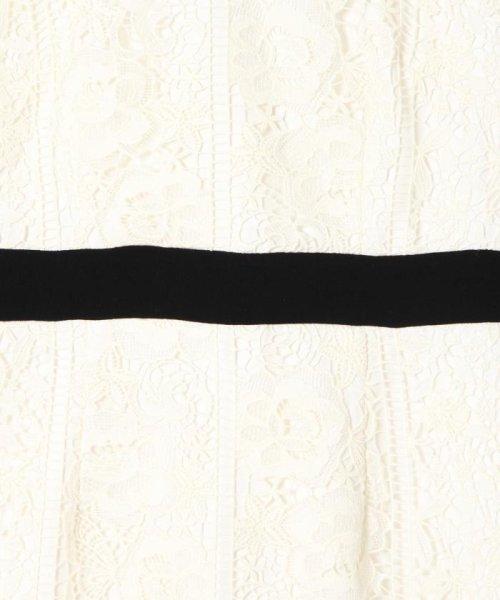 GRACE CONTINENTAL(グレースコンチネンタル)/【TVドラマ着用】ケミカルフラワーレースワンピース/18331101_img03