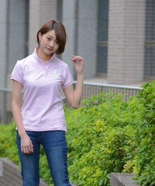 GIORDANOL(ジョルダーノ(レディース))/【ライクラ素材使用】3Dライオン刺繍ポロシャツ/GD18SS05318202_img41
