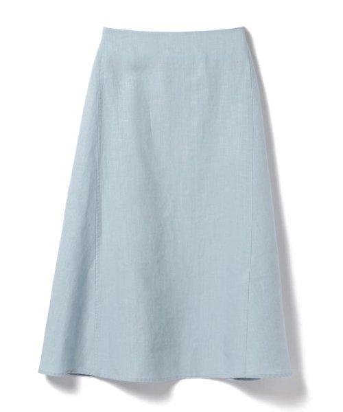 Demi-Luxe BEAMS(デミルクスビームス)/【洗える】Demi-Luxe BEAMS / リネン フィット&フレアスカート/68270386002_img11