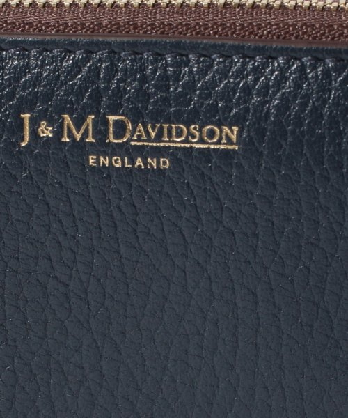 J&M DAVIDSON(ジェイアンドエムデヴィッドソン)/【J&M DAVIDSON】コインケース 小銭入れ / SMALL ZIP PURSE 【NEW NAVY】/525972663850_img04