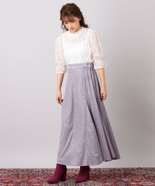 MIIA(ミーア)/キラキラAラインスカート/32830116_img04