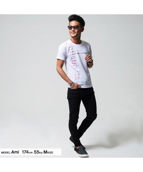 VIOLA(ヴィオラ)/VIOLA【ヴィオラ】プリント入りクルーネック半袖Tシャツ/A81343_img02