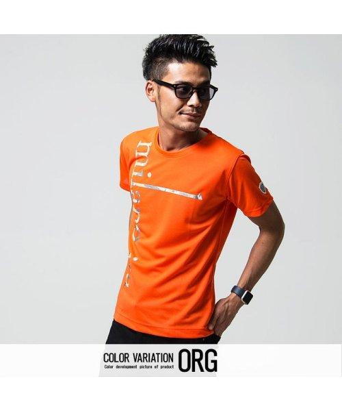 VIOLA(ヴィオラ)/VIOLA【ヴィオラ】プリント入りクルーネック半袖Tシャツ/A81343_img03