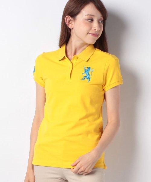 GIORDANOL(ジョルダーノ(レディース))/【ライクラ素材使用】3Dライオン刺繍ポロシャツ/GD18SS05318202_img58