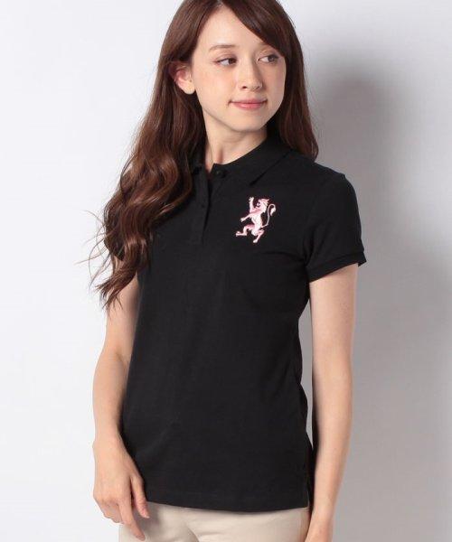 GIORDANOL(ジョルダーノ(レディース))/【ライクラ素材使用】3Dライオン刺繍ポロシャツ/GD18SS05318202_img61