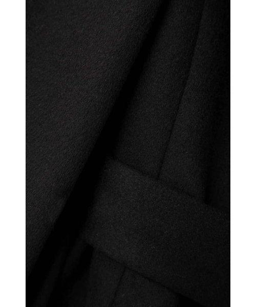 Pinky&Dianne(ピンキー アンド ダイアン)/★◆カシミヤ10%ファー付きリボンベルトコート/0318252051_img05