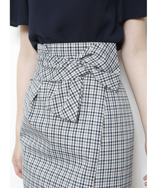 JUSGLITTY(ジャスグリッティー)/リボン付チェックタイトスカート/48338240_img04