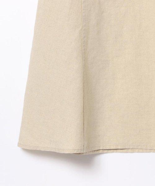 Demi-Luxe BEAMS(デミルクスビームス)/【洗える】Demi-Luxe BEAMS / リネン フィット&フレアスカート/68270386002_img16