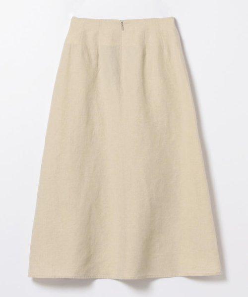 Demi-Luxe BEAMS(デミルクスビームス)/【洗える】Demi-Luxe BEAMS / リネン フィット&フレアスカート/68270386002_img17