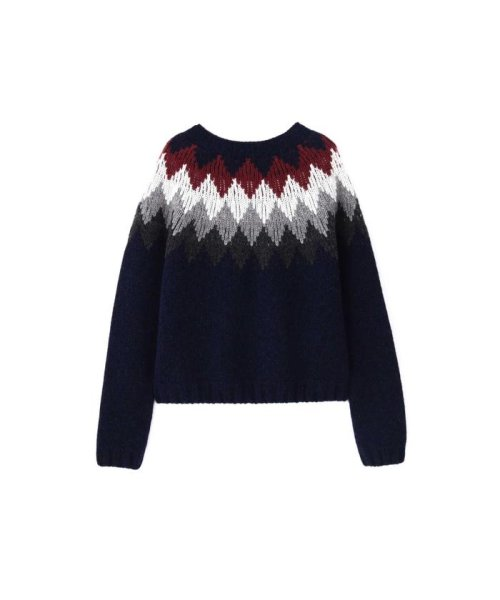 MARGARET HOWELL(マーガレット・ハウエル)/DIAMOND FAIRISLE JUMPER/5788263006_img05