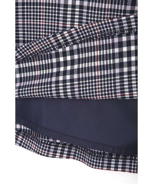 PROPORTION BODY DRESSING(プロポーション ボディドレッシング)/グレンチェックラッフルスカート/1218120202_img13