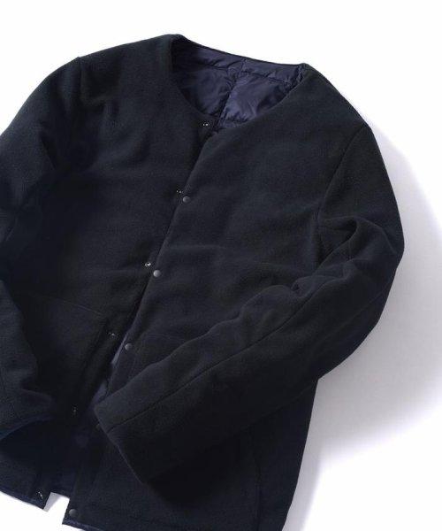 SHIPS JET BLUE(シップス ジェットブルー)/TAION×SHIPS JET BLUE: 別注 リバーシブル クルーネック ダウンジャケット/124980001_img09
