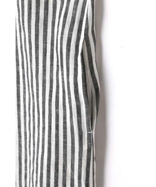 MARGARET HOWELL(マーガレット・ハウエル)/BLACK&WHITE SHIRTING LINEN/5788157031_img05