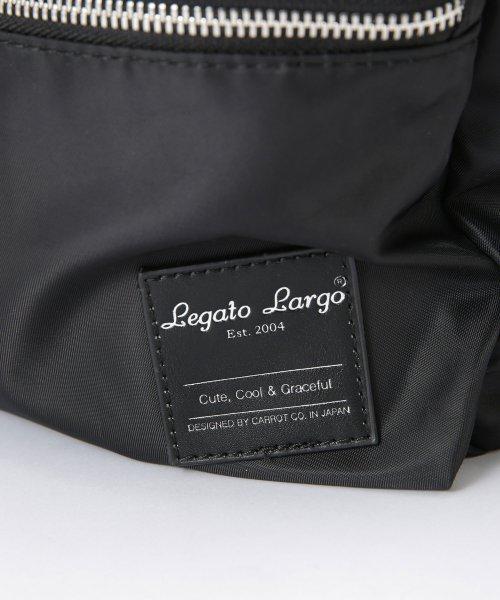 nano・universe(ナノ・ユニバース)/Legato Largo/撥水加工微光沢ナイロン調ポリエステル10ポケットリュック/6758132583_img11