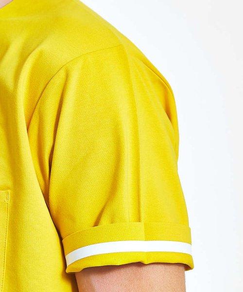 ABAHOUSE(ABAHOUSE)/カラースキーム圧着Tシャツ/00360021041_img02