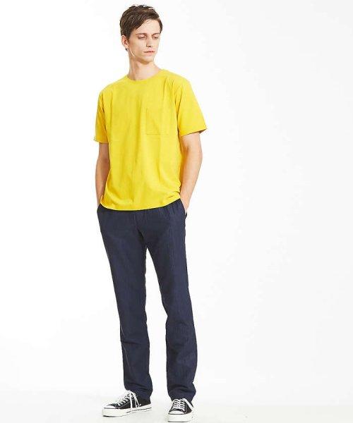 ABAHOUSE(ABAHOUSE)/カラースキーム圧着Tシャツ/00360021041_img03