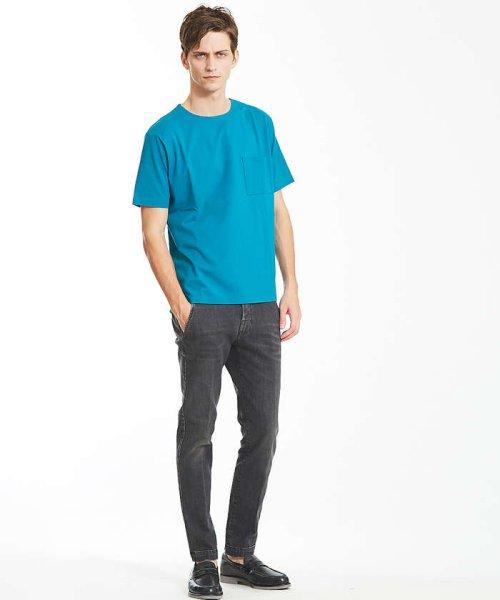 ABAHOUSE(ABAHOUSE)/カラースキーム圧着Tシャツ/00360021041_img06