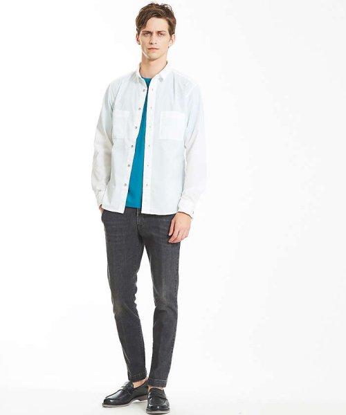 ABAHOUSE(ABAHOUSE)/カラースキーム圧着Tシャツ/00360021041_img07