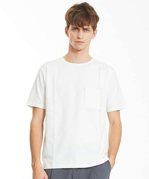 ABAHOUSE(ABAHOUSE)/カラースキーム圧着Tシャツ/00360021041_img08