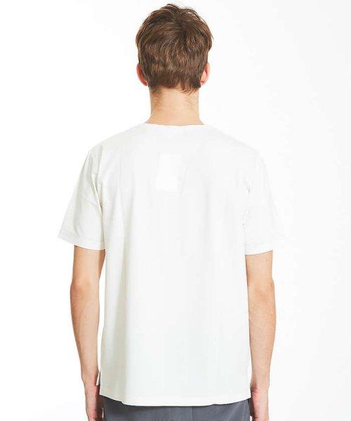 ABAHOUSE(ABAHOUSE)/カラースキーム圧着Tシャツ/00360021041_img10