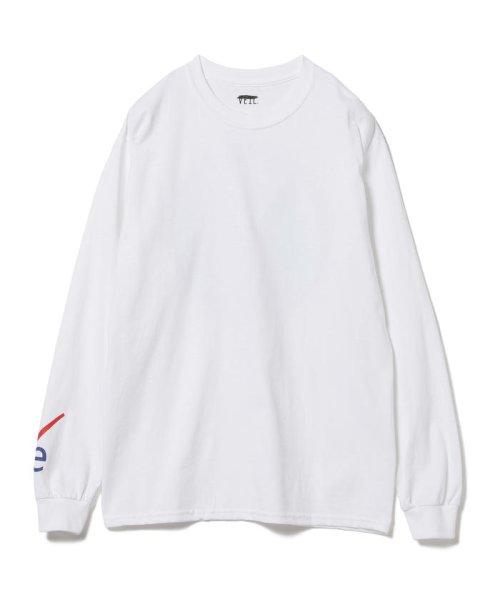 BEAMS OUTLET(ビームス アウトレット)/VEIL × Ray BEAMS / 別注 袖ロゴ ロングスリーブ Tシャツ/61140356049_img01