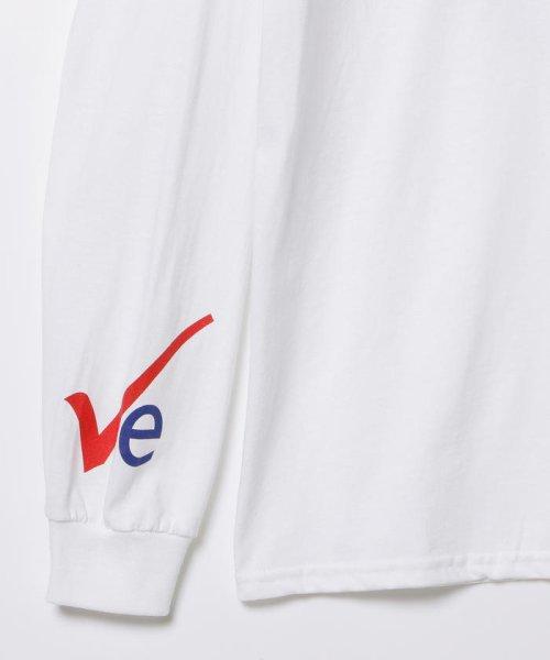BEAMS OUTLET(ビームス アウトレット)/VEIL × Ray BEAMS / 別注 袖ロゴ ロングスリーブ Tシャツ/61140356049_img03