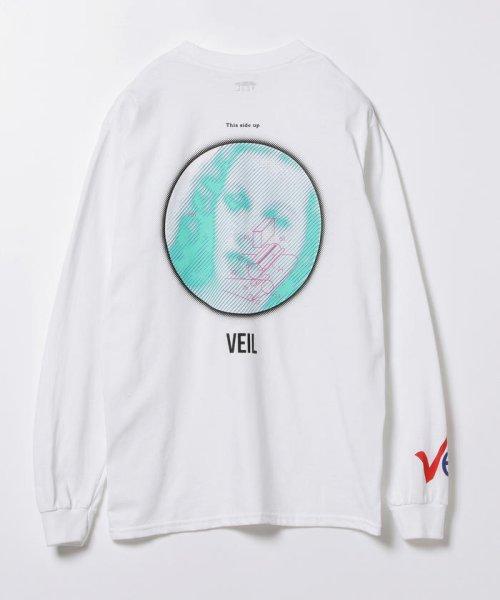 BEAMS OUTLET(ビームス アウトレット)/VEIL × Ray BEAMS / 別注 袖ロゴ ロングスリーブ Tシャツ/61140356049_img04