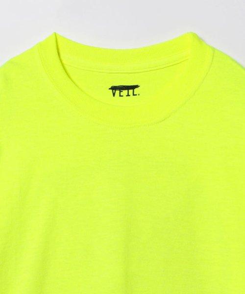 BEAMS OUTLET(ビームス アウトレット)/VEIL × Ray BEAMS / 別注 袖ロゴ ロングスリーブ Tシャツ/61140356049_img06