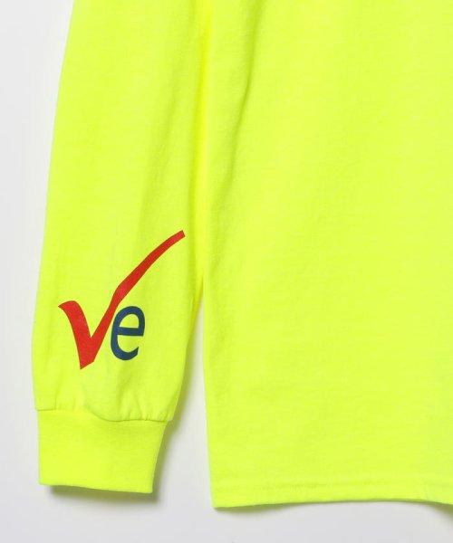 BEAMS OUTLET(ビームス アウトレット)/VEIL × Ray BEAMS / 別注 袖ロゴ ロングスリーブ Tシャツ/61140356049_img07