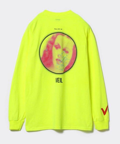 BEAMS OUTLET(ビームス アウトレット)/VEIL × Ray BEAMS / 別注 袖ロゴ ロングスリーブ Tシャツ/61140356049_img08