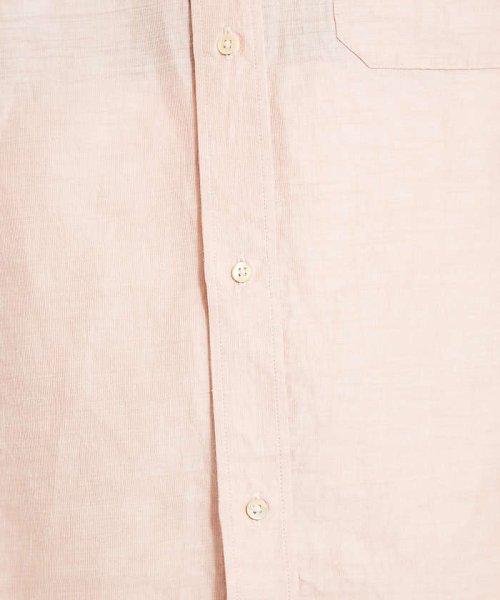 ABAHOUSE(ABAHOUSE)/リネンカールマイヤーバンドカラーロングシャツ/00370010009_img08