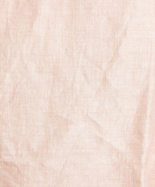 ABAHOUSE(ABAHOUSE)/リネンカールマイヤーバンドカラーロングシャツ/00370010009_img10