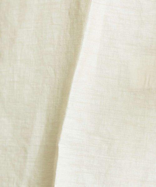 ABAHOUSE(ABAHOUSE)/リネンカールマイヤーバンドカラーロングシャツ/00370010009_img12