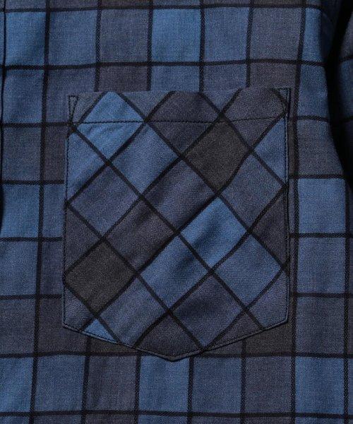 NOLLEY'S goodman(ノーリーズグッドマン)/ストライプ/チェック カッタウェイシャツ/8-0086-5-71-004_img05